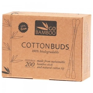 Go Bamboo Bamboo Cotton Buds